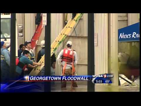 How Georgetown Flood Walls Work