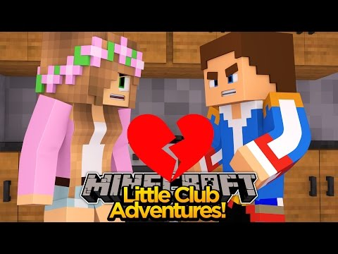 Minecraft Little club Adventures - Little Donny is CHEATING ON LITTLE KELLY!!!