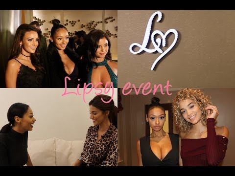Lipsy event & interviewing Michelle Keegan and golden barbie! | JaydePierce
