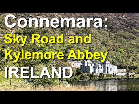 Connemara, Sky Road, Kylemore Abbey, Ireland