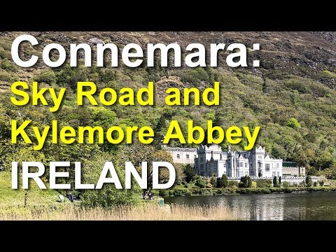 Connemara, Sky Road, Kylemore Abbey, Ireland