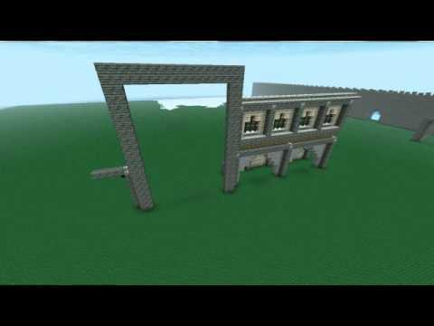 Minecraft mosque timelapse part 1