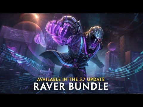 SMITE - Drop the Beat (Raver Bundle in the 5.7 Update)