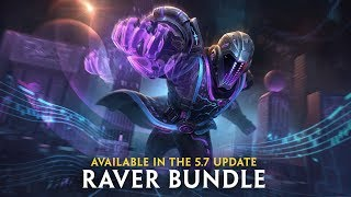 SMITE - Drop the Beat (Raver Bundle in the 5.7 Update)