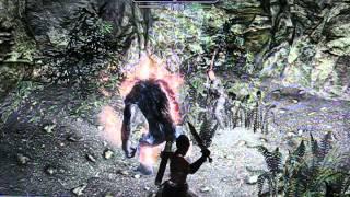 SKYRIM LEGENDARY DIFF GAMEPLAY (PS3)