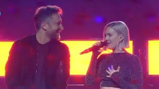 Anne Marie & David Guetta - Don't Leave Me Alone (LOS40 Music Awards 2018)