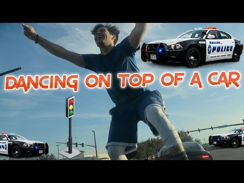 DANCING IN THE MIDDLE OF TRAFFIC || Flamingeos
