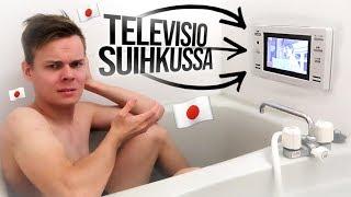 Televisio suihkussa? // Saavuttiin Kiotoon!