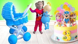 Five Kids Birthday Song Children's Songs
