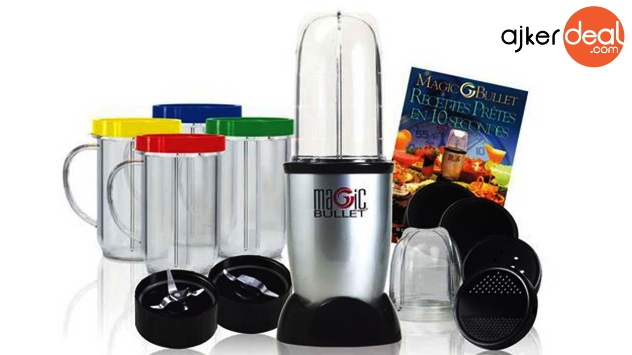 For Kitchen Magic Bullet Blender For Kitchen In Bangladesh 21 Pieces