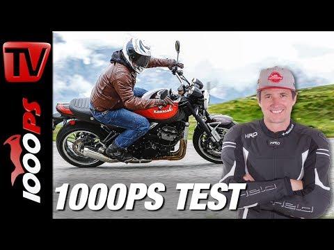 Kawasaki Z 900 RS Test - Naked oder Retro? Alpenmasters - Teil 4 von 18