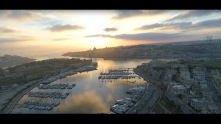 DJI PHANTOM 4 PRO SUNRISE IN MALTA