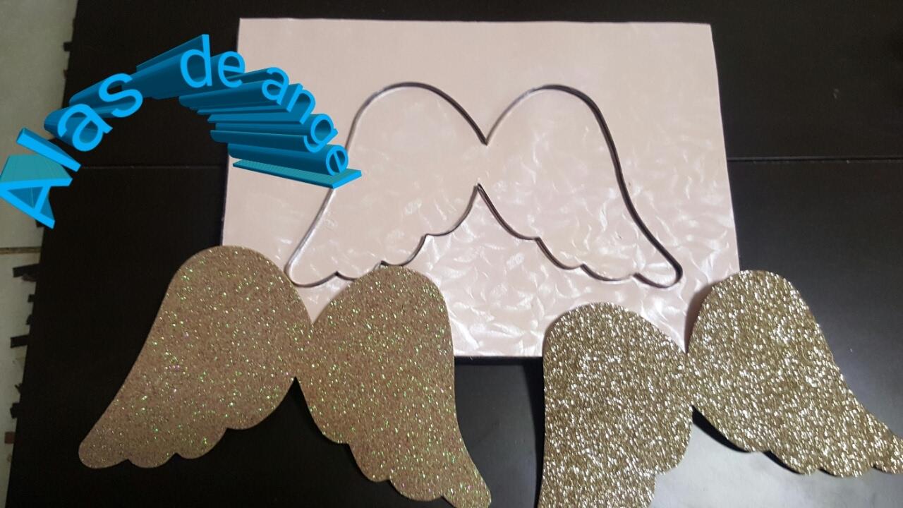 Como hacer alas de angel facilmente doovi for Como construir piletas de material