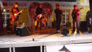 WOŚP Świdnica rynek Red 7 (RedTube) Van Halen - You Really Got Me cover fragment.