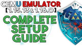 WII U Emulator] Cemu 1 15 2 | The Legend of Zelda: The Wind