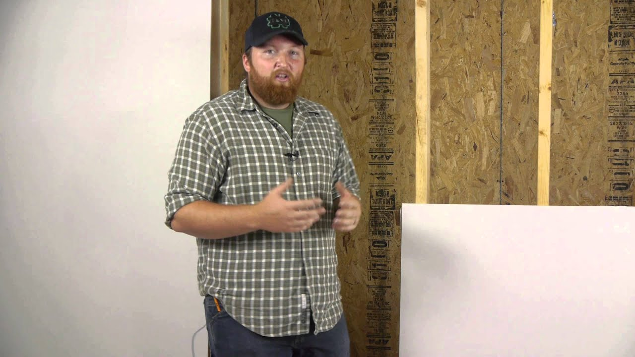 How to hang drywall on walls - How To Hang Drywall On Walls 1