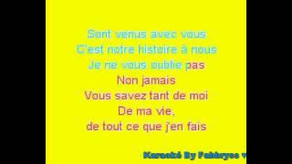 Je ne Vous Oublie Pas - Céline Dion - Karaoké FKA