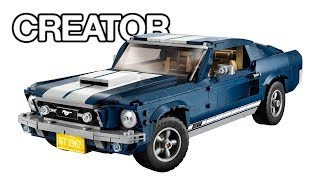LEGO Creator Ford Mustang (10265) - Speed build