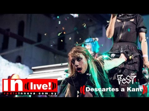 INLive Contrapedal Fest`14 | Descartes a Kant (live) Set Completo