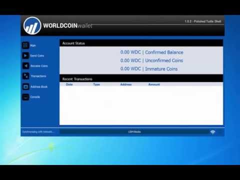 Configuring your Worldcoin Wallet