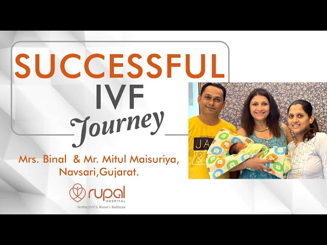 IVF success in 1st attempt after 4 years of marriage at Rupal Hospital, the best IVF center, Surat