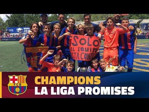 [HIGHLIGHTS] FC Barcelona Aleví A - Real Madrid (3-2) Final LaLiga Promises NY