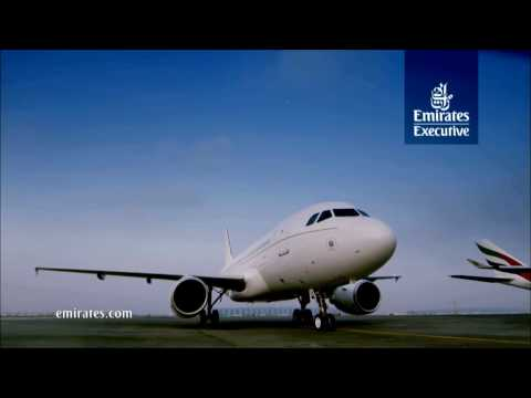 Emirates Executive   A319 Luxury Private Jet   Emirates Airline