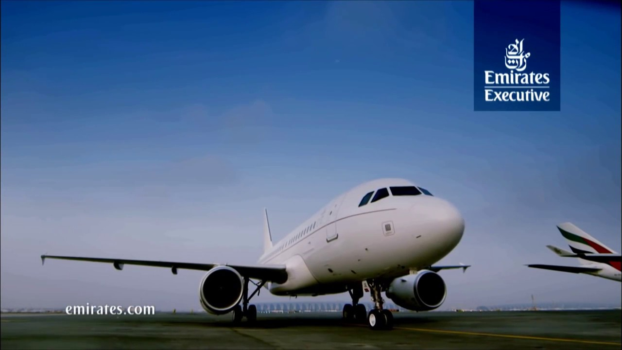 Emirates executive a319 luxury private jet emirates airline youtube - Emirates airlines paris office ...