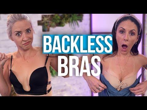 Testing Backless Bras from Amazon (Beauty Break)