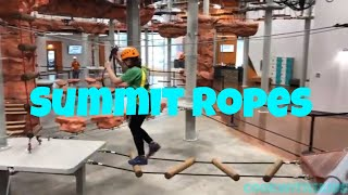 Summit Ropes Indoor Climbing in Sterling Virginia