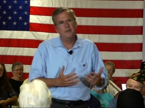 Jeb Bush Outlines Immigration Position In NH