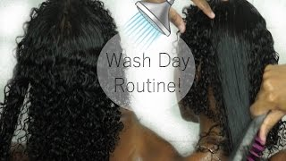 My AFFORDABLE Wash Day Routine For Defined 3b/3c Hair! | Ashh MUA