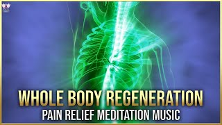 Full Body Healing Frequency | Whole Body Regeneration | Instant Pain Remover Binaural Beats #V097