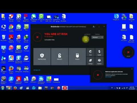 How To Temporary Turn Off Protection In Bitdefender 2015 Turn off On Access Scanner