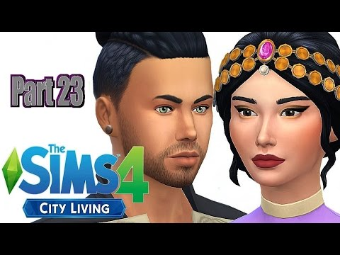 The Sims 4 City Living//Part 23 - FURNISHING THE PENTHOUSE