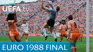 Netherlands V Soviet Union: 1988 Uefa European Championship Final Highlights