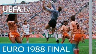 Netherlands v Soviet Union: 1988 UËFA European Championship final highlights