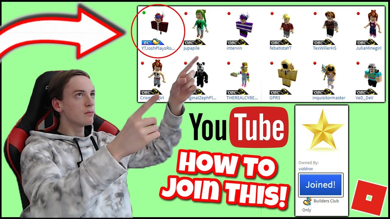 Roblox Groups The Official Roblox Star Video Creators Group
