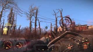 Fallout 4 Легендарный Взрывной Миниган