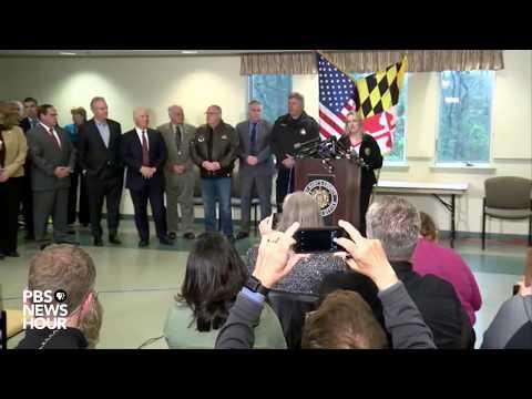 WATCH: MD Gov. Hogan, officials provide update on school shooting