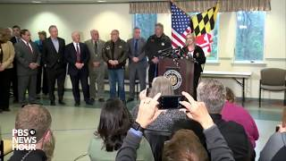 WATCH: MD Gov. Hogan, officials provide update on school shooting