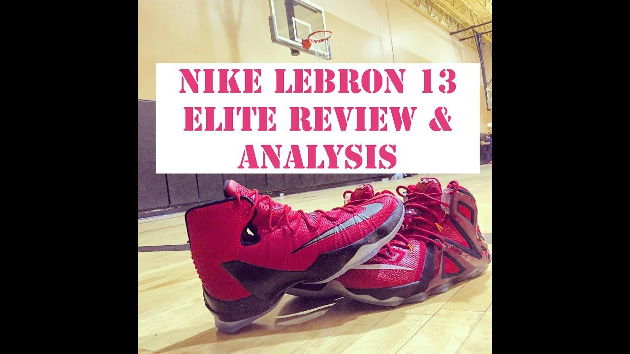 nike lebron 12 elite performance review
