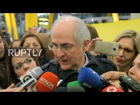 Spain: 'Like a James Bond film' - Former Caracas Mayor flees house arrest, lands in Madrid