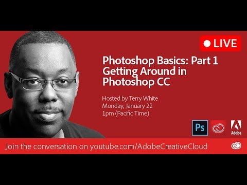 Adobe Photoshop Basics - Part 1 - Getting Around in Photoshop CC