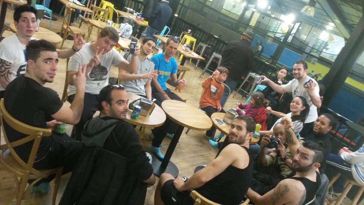 trampoline park bordeaux in6dance crew et cdo movimentos youtube. Black Bedroom Furniture Sets. Home Design Ideas
