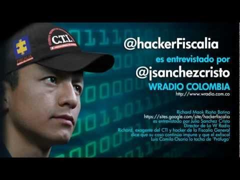 @hackerFiscalia es entrevistado por @jsanchezcristo de WRADIO Colombia