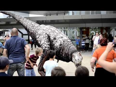 Baby T Rex Dinosaur - Queensland Museum - Brisbane, Australia