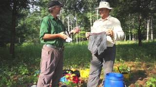 How to do a one carry portage in Algonquin Park