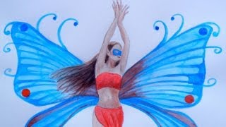 How to Paint a Fairy - How to Draw a Fairy