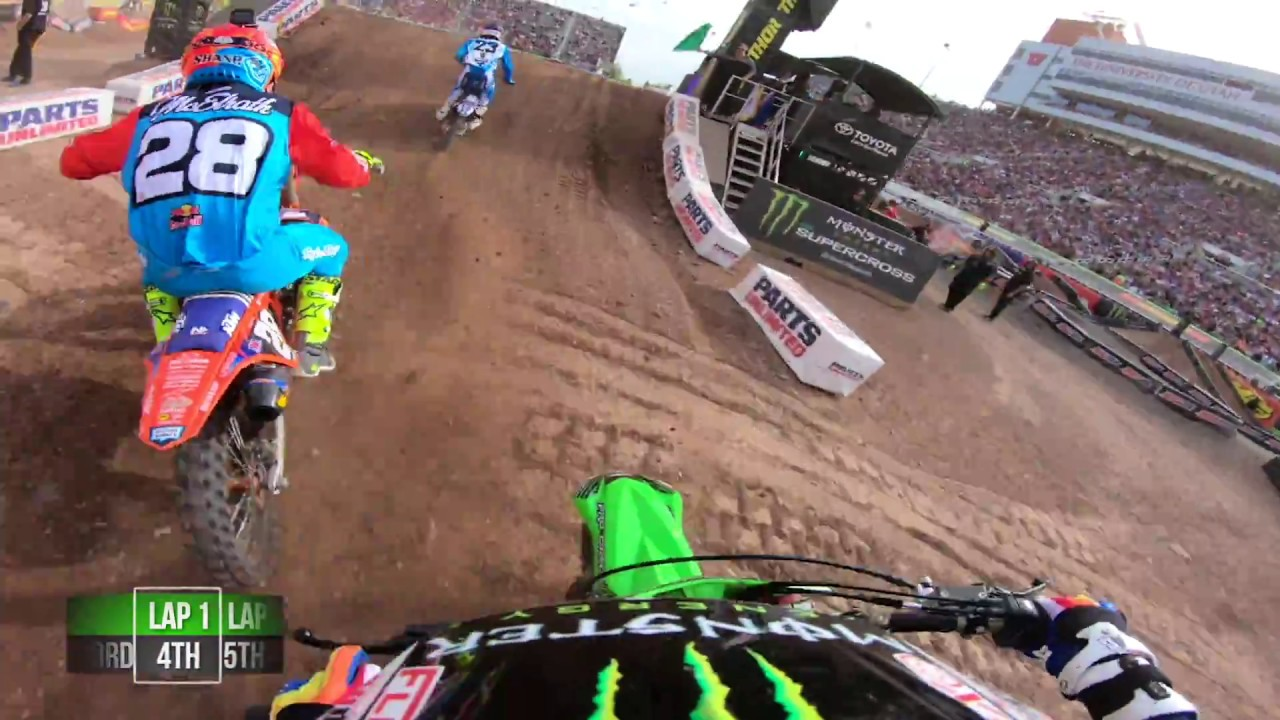 GoPro: Adam Cianciarulo Main Event 2018 Monster Energy Supercross from Salt Lake City